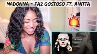 Madonna   Faz Gostoso Ft. Anitta (Audio) | REACTION