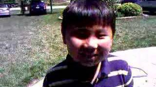 hmong kids freestyling