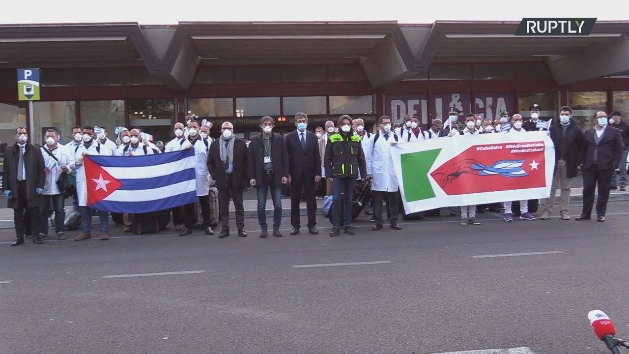 Ιταλία: Κουβανοί γιατροί και νοσηλευτές φθάνουν για να βοηθήσουν στην καταπολέμηση του κορωναϊού