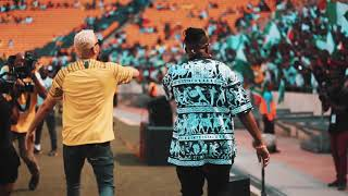 Kiddominant And AKA Perform Fela In Versace At The FNB Stadium.