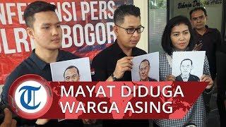 Mayat Pria Dalam Koper di Bogor Diduga Warga Asing, Polisi Merilis Sketsa Wajah