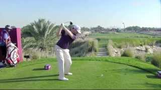 Branden Grace's Eagle In Qatar