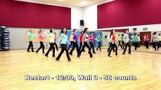 Hearts On Fire - Line Dance (Dance & Teach in English & 中文)