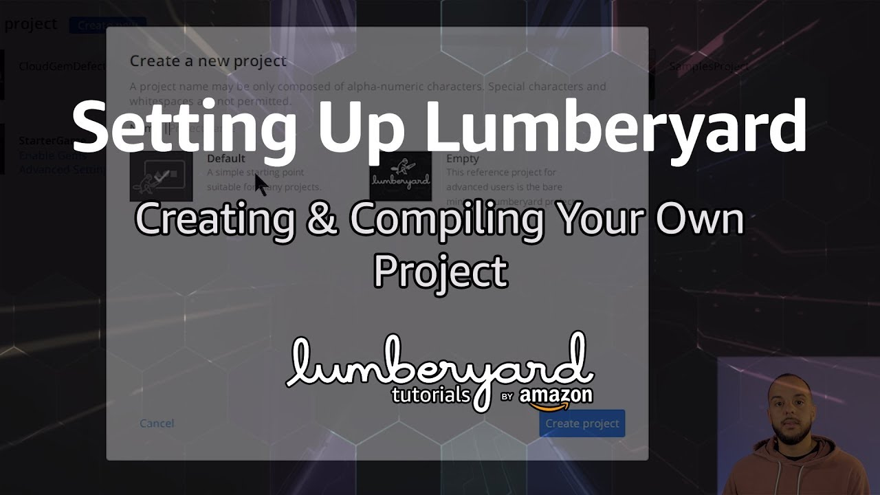 How to Create and Compile a New Project for Lumberyard | Lumberyard Tutorial 2019.07