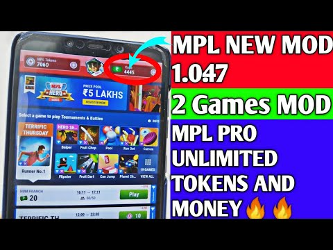 🥇 UPDATED MOD APK LOOT LOOT ( MPL/PPL) MONEY DAILY 110