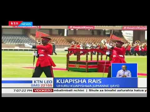 Maandalizi wa sherehe ya kuapisha rais Uhuru Kenyatta na naibu William Ruto yaendelea