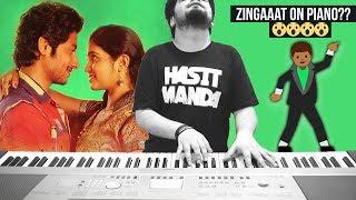 ZINGAAT   Dhadak  Sairat (Ajay Atul)   EPIC PIANO COVER