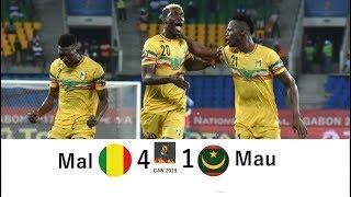 Mali 4 - 1 Mauritania