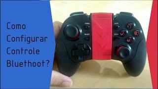 Configurando controle Bluethoot (Knup KP-4034)