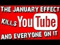 Why January is the WORST month for YouTubers | Lockstin