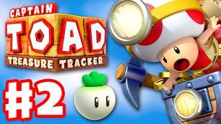 Captain Toad: Treasure Tracker - Gameplay Walkthrough Part