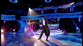Victoria Pendleton & Brendan Foxtrot to 'Moondance' - Strictly Come Dancing 2012 - Week 2 - BBC One
