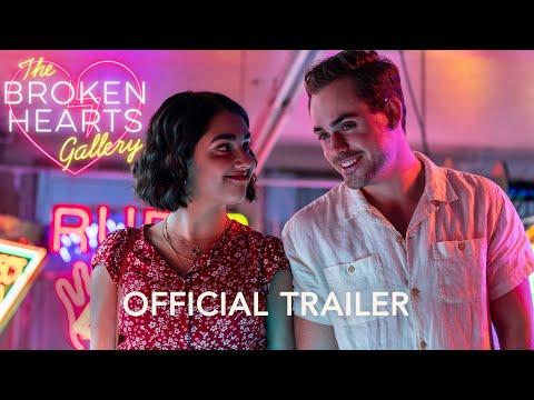 Video trailer för THE BROKEN HEARTS GALLERY - Official Trailer (HD) - In Theaters September 11