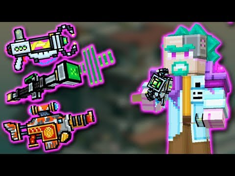 Crazy Doctor Set - Pixel Gun 3D - JustZaku