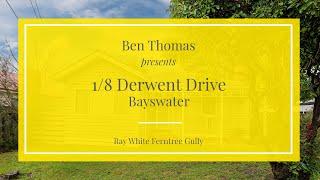 1/8 Derwent Drive, Bayswater - Ray White Ferntree Gully