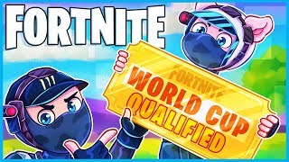 2 content creators take on the fortnite world cup...
