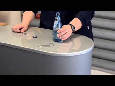 Kupplungsschlüssel als Schlüsselanhänger und Flaschenöffner