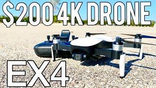 Eachine EX4 (JJRC X12) Drone - Half the price of a DJI Mavic Mini -$209 amazing GPS quadcopter