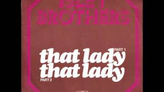 Isley Brothers - That Lady video
