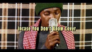 Jux - Incase You Don't Know Cover Ft Nyashinski |BY NIZER