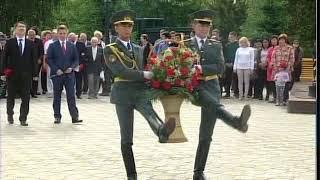 Сегодня в Парке Победы вспоминали события 22 июня 1941 года
