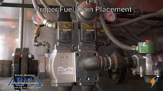 Proper Fuel Train Placement for Rental Steam Boilers