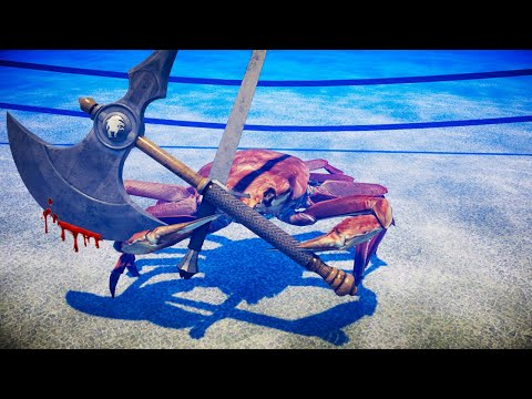 Fight Crab is the most disturbing game you'll ever see