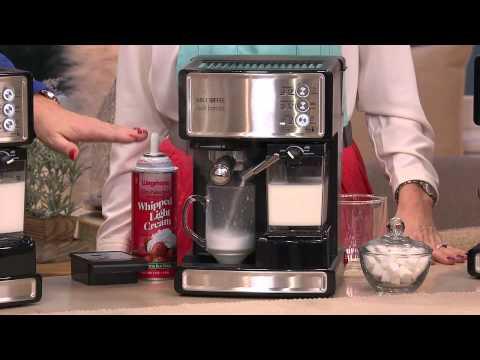 , Mr. Coffee Cafe Latte Maker