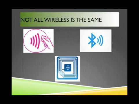 What's the difference between RFID, NFC and BLE?