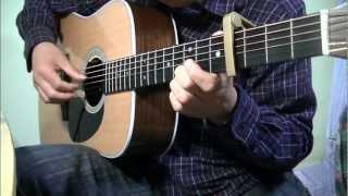 魔女の宅急便「やさしさに包まれたなら」ギター ソロ / Kiki's Delivery Service Guitar Solo Cover