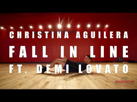 Pop Up Class | Howard Johnson | Christina Aguilera - Fall In Line Ft. Demi Lovato Mp3