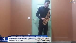 Bernardo CORREIA PEREIRA plays Partita Nº2 by J.S. Bach #adolphesax