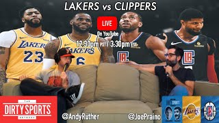 LAKERS VS CLIPPERS LIVE COMMENTARY