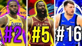 Ranking The Best Player From Every NBA Team 2019 20