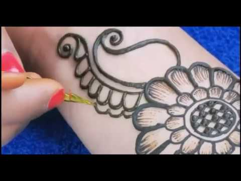 Simple Hand Mehndi designs /Special for shawan