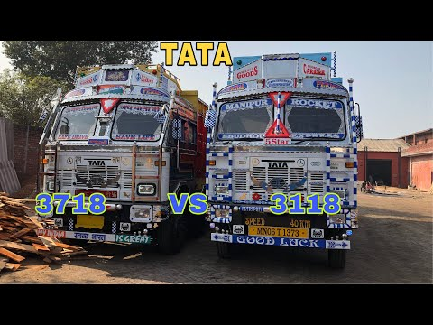 Tata MOTORS 3718 VS 3118 review