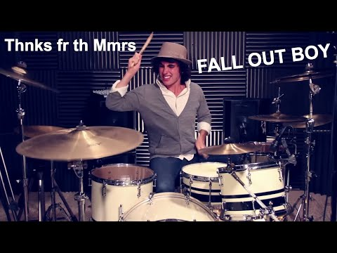 Ricky - FALL OUT BOY - Thnks fr th Mmrs (Drum Cover)