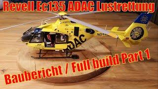 (Reupload) Revell EC 135 ADAC Luftrettung 1/32 building/Baubericht Part 1.