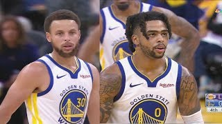 Stephen Curry & D'Angelo Russell CRAZY New Splash Bros Highlights vs Lakers! Lakers vs Warriors