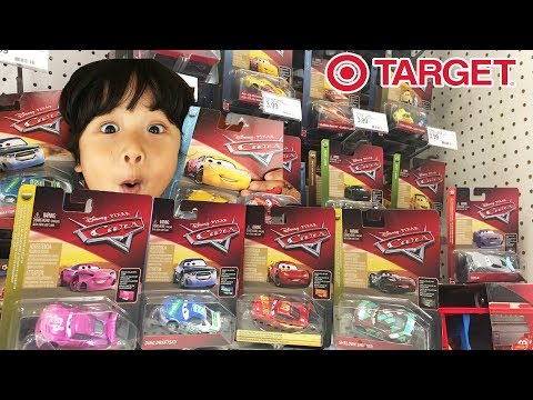 FOUND Disney Cars 3 2018 Diecast Collector Card | Rusteze Racing Center McQueen TARGET TOY HUNT