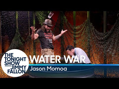 Water War with Jason Momoa