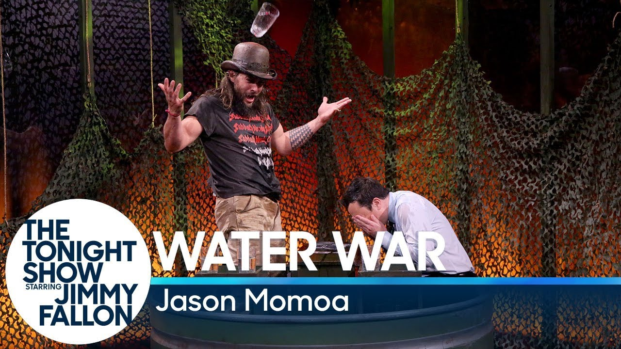 Water War with Jason Momoa thumbnail
