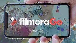 FilmoraGo - Melhor App Editor de vídeo Para Smartphone sem Complicações.