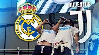 REAL MADRID-JUVENTUS SUL PALCO DEL ROMICS!!! PARTITA EPICA!