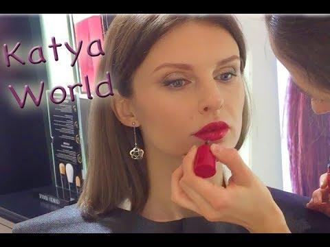 Мне делают самый красивый вечерний макияж Giorgio Armani / Armani Beauty (KatyaWORLD)