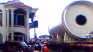 preview picture of video 'maquinaria de la mina de cotui video 1'
