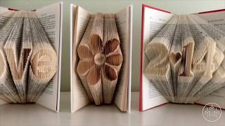 Amazing Sculptures Formed With Folded Book Pages By Luciana Frigerio