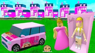 Barbie Cars & Dream Houses ! Random Roblox Games Let