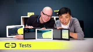 Testfazit: Fünf Android-Tablets mit 10,1 Zoll für unter 200 Euro | deutsch