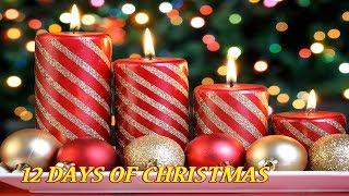 12 DAY OF CHRISTMAS - 1 Hours Best Christmas Songs 2017